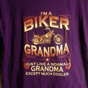 Biker Shirt for Grandma large